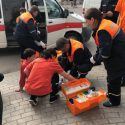 ДТП в Бельцах: на перекрёстке сбили перебегавшего на красный школьника (ФОТО)