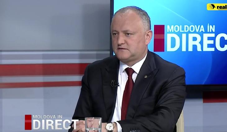 """Додон: Не видел такой жесткой реакции """"правых"""", когда правительство ездило праздновать """"унирю"""" в Румынию (ВИДЕО)"""