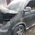В Бельцах из-за короткого замыкания загорелась иномарка (ФОТО)