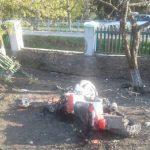 Мотоциклист снес забор дома во Флорештском районе: молодой человек госпитализирован в тяжелом состоянии