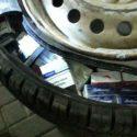 Находчивый молдаванин хотел провезти через границу сигареты, спрятанные в колёсах автомобиля (ФОТО)