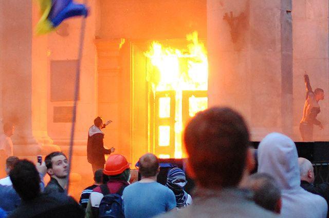 Шашлычная в Доме профсоюзов. Кто наказан за гибель людей в Одессе?
