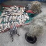 У озера Манта поймали браконьеров-нелегалов: в их сети попали две утки и 40 кг рыбы (ФОТО)