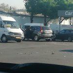 Утреннее ДТП: в центре города столкнулись два авто