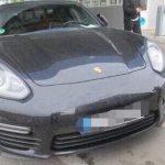 На границе с Молдовой задержали угнанный Porsche