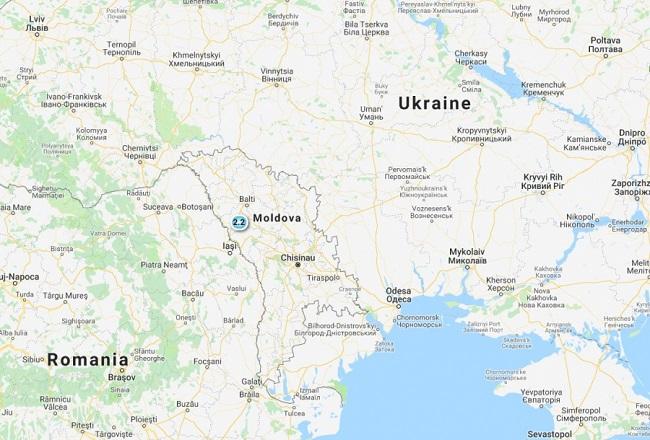 В Молдове произошло землетрясение магнитудой в 2,2 балла (ФОТО)