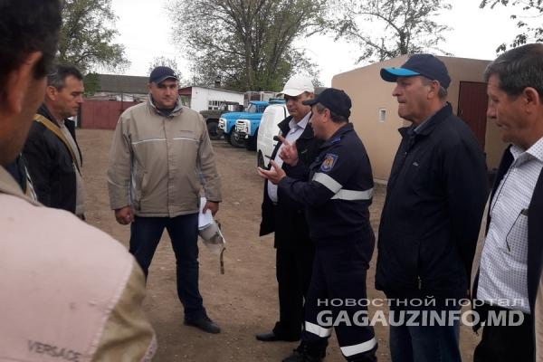 В Конгазе прошли учения по тушению пожаров и помощи пострадавшим (ФОТО)