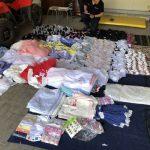 Пограничники изъяли очередную партию одежды без документов (ФОТО)