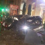 Машины всмятку: серьезное ДТП произошло накануне в столице (ВИДЕО, ФОТО)
