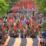 ФОТОРЕПОРТАЖ. Грандиозный Марш Победы в Кишиневе