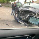 ДТП в центре столицы: два автомобиля сильно повреждены (ФОТО)