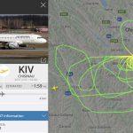 В Air Moldova объяснили, почему самолёт долго кружил над Кишинёвом