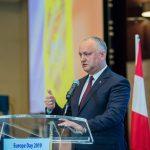 Додон - европейским дипломатам: Без Дня Победы не было бы и Дня Европы! (ВИДЕО)