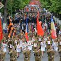 Главные российские каналы рассказали о масштабном Марше Победы в Кишиневе (ВИДЕО)