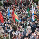 Более 60 тысяч человек приняли участие в Марше Победы в Кишиневе (ФОТО)