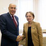 Гречаный обсудила важные вопросы двустороннего сотрудничества с послом Литвы в Молдове (ФОТО)