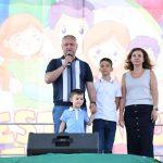Тысячи семей пришли на грандиозный Фестиваль семьи под патронатом президента в Кишиневе (ФОТО, ВИДЕО)