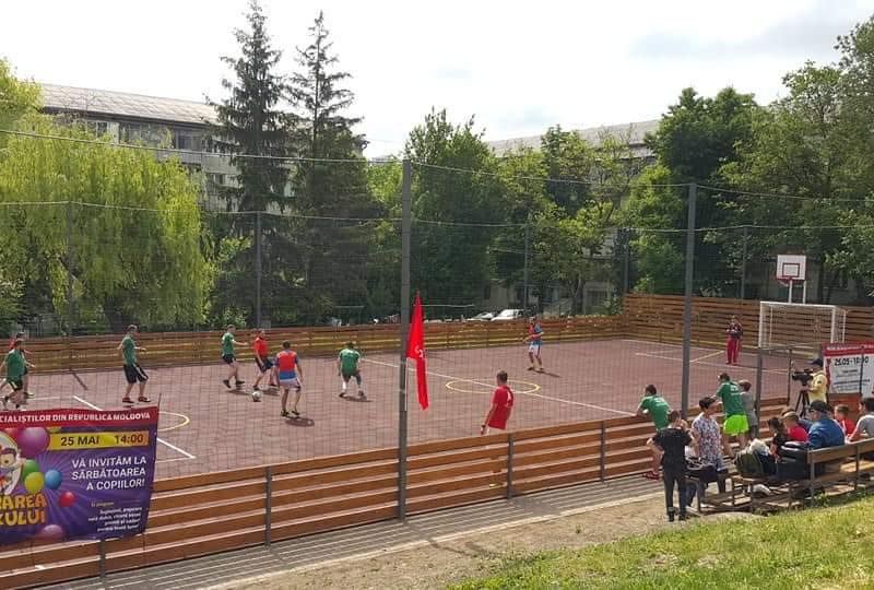 Праздник на Рышкановке: стараниями социалистов открыт многофункциональный стадион