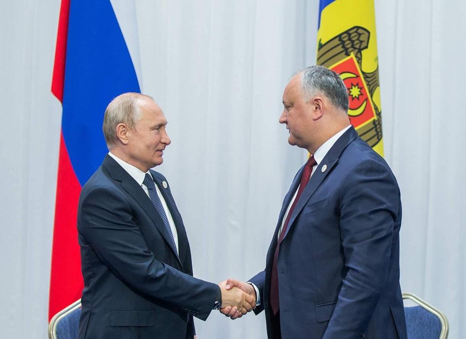 Додон встретился с Путиным: о чём говорили два лидера (ФОТО)