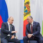 По приглашению Путина Додон примет участие в Международном экономическом форуме в Санкт-Петербурге