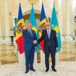 Додон встретился с президентом Казахстана (ВИДЕО, ФОТО)