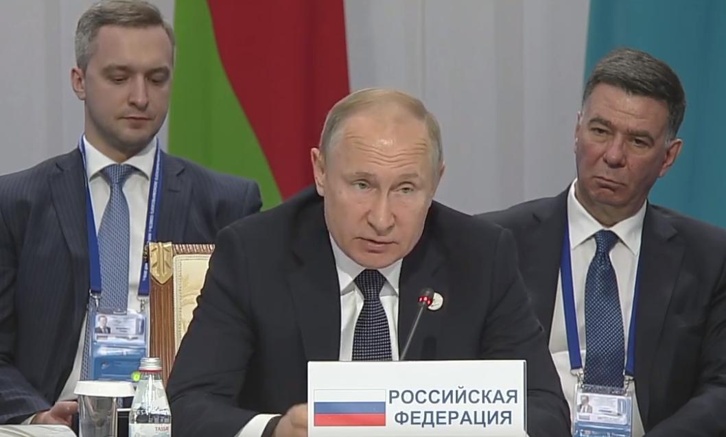 Путин: ЕАЭС заинтересован в углублении взаимодействия с Молдовой (ВИДЕО)