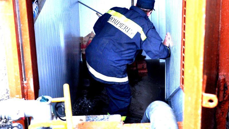 Вчерашний дождь затопил подвалы частных домов в Кишиневе