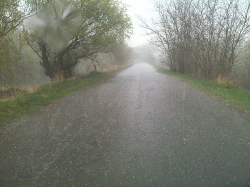 На Молдову обрушился дождь с градом (ВИДЕО)