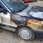 Машина приднестровца загорелась во время движения (ФОТО)
