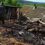 Детская шалость привела к пожару в Рыбнице (ФОТО)
