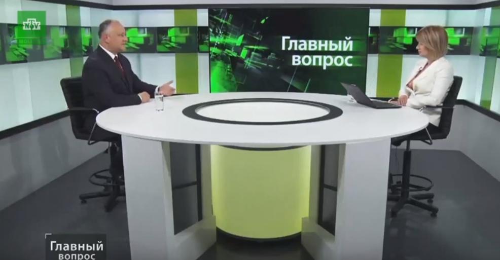 """Додон: Или """"Acum"""", или """"Niciodată"""". Никаких переговоров с ДПМ не будет! (ВИДЕО)"""