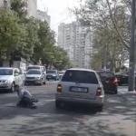 На Ботанике водитель сбил пешехода и скрылся с места ДТП