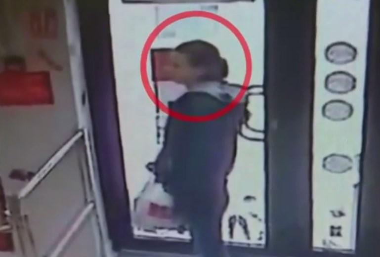 В Бельцах разыскивают женщину, подозреваемую в краже телефона (ВИДЕО)