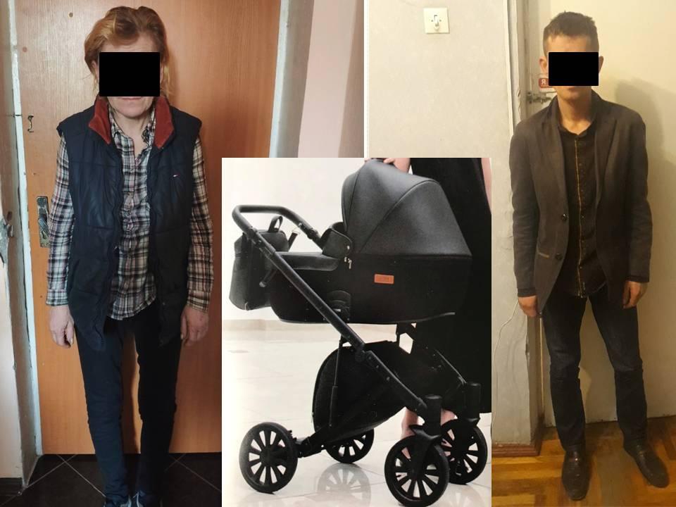 Из подъезда дома на Рышкановке украли детскую коляску: подозреваемых задержали (ВИДЕО)