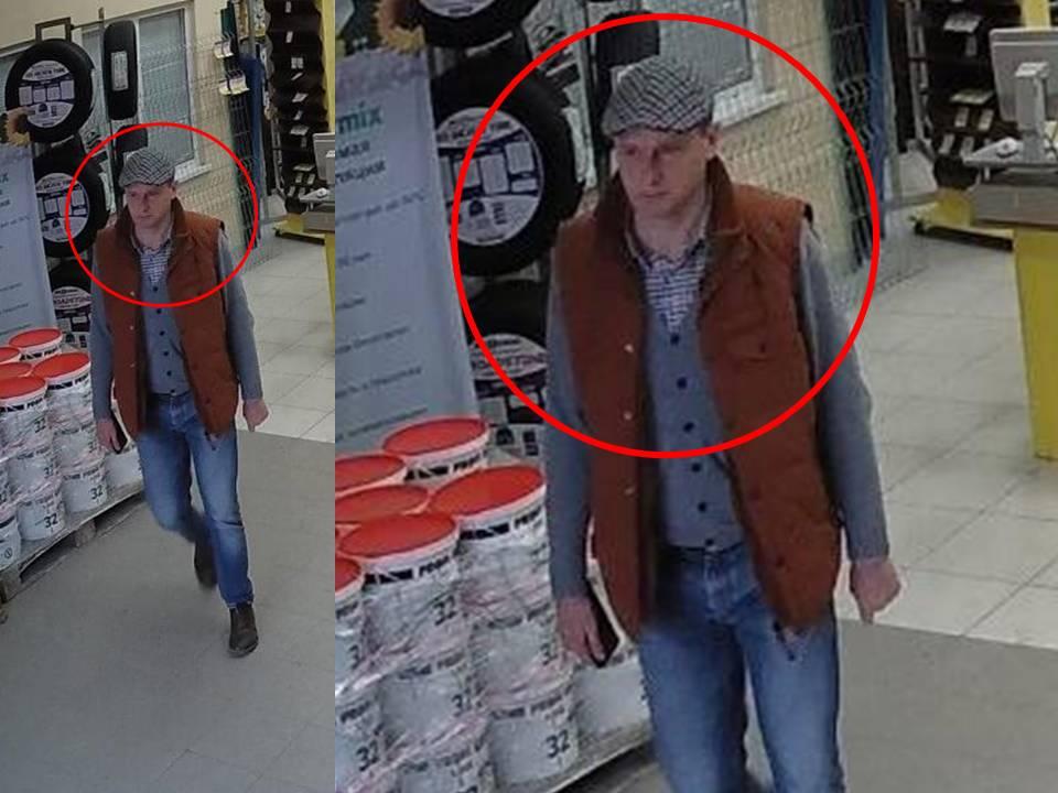 Столичная полиция разыскивает подозреваемого в краже (ВИДЕО)