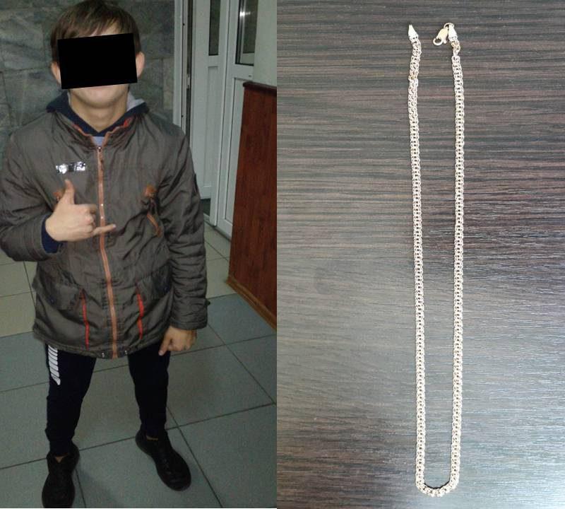 В столице задержали несовершеннолетнего рецидивиста, укравшего у прохожего золотую цепочку (ВИДЕО)