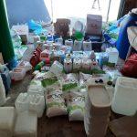 На Рышкановке нашли цех контрафактной бытовой химии: моющие средства разливали в гараже и продавали через соцсети (ВИДЕО)