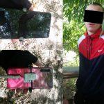 По горячим следам: в столице поймали молодого рецидивиста, укравшего из магазина телефон (ВИДЕО)