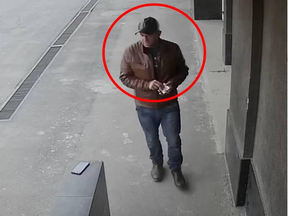 В Кишинёве разыскивается подозреваемый в краже телефона (ВИДЕО)