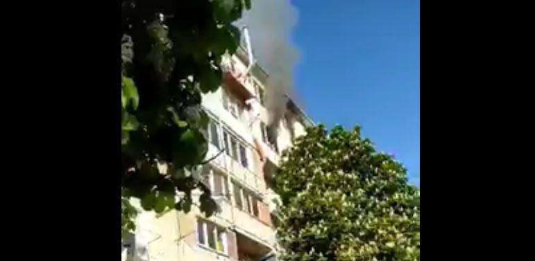 Утренний пожар в многоэтажке на Буюканах: пострадавших нет