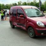 В секторе Рышкановка произошло ДТП: на место прибыли сотрудники полиции (ФОТО)