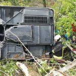 (ОБНОВЛЕНО) В Италии перевернулся туристический автобус. Среди пострадавших - молдаване (ВИДЕО)