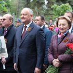 Президент возглавил многотысячный Марш Победы в Кишинёве (ВИДЕО)