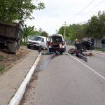В страшном ДТП в селе Садова погиб мотоциклист (ФОТО)