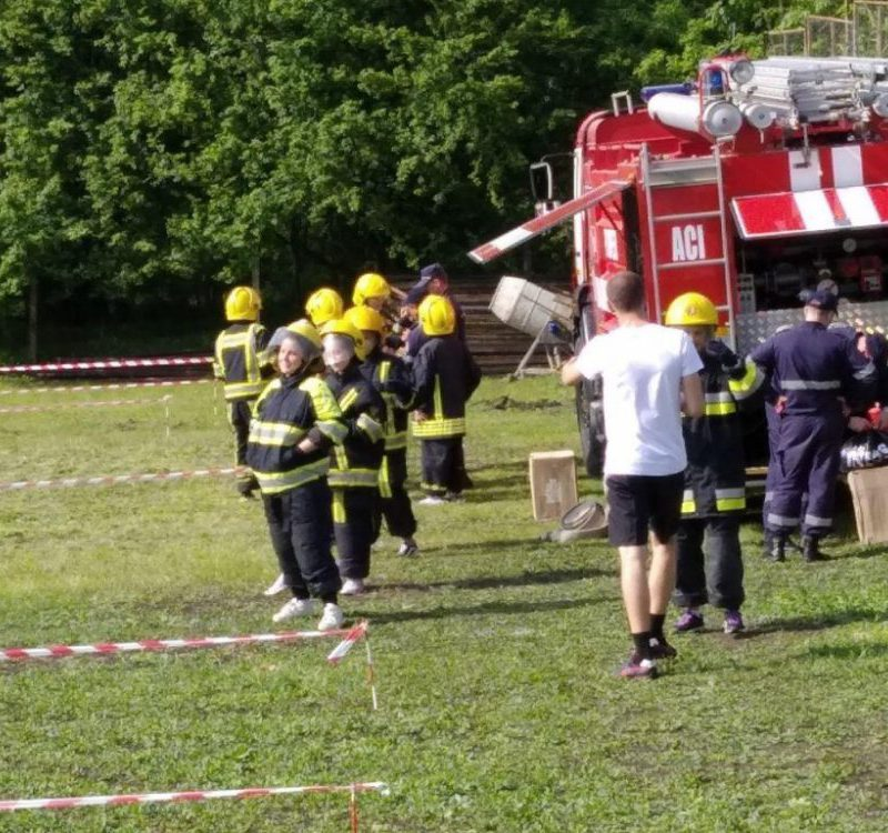 Спасатели провели урок безопасности для детей из Конгазчика (ФОТО)
