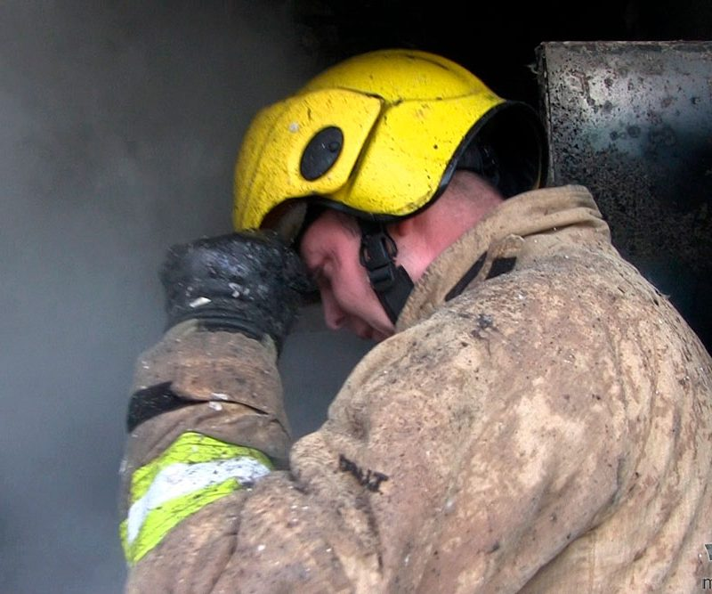 В Дубоссарах из-за короткого замыкания вспыхнул пожар: пострадала несовершеннолетняя