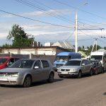 Цепное ДТП в Тирасполе: пострадали три человека (ФОТО)