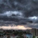 """""""Жёлтый код"""" продлён и на сегодня: ожидаются дожди с грозами"""