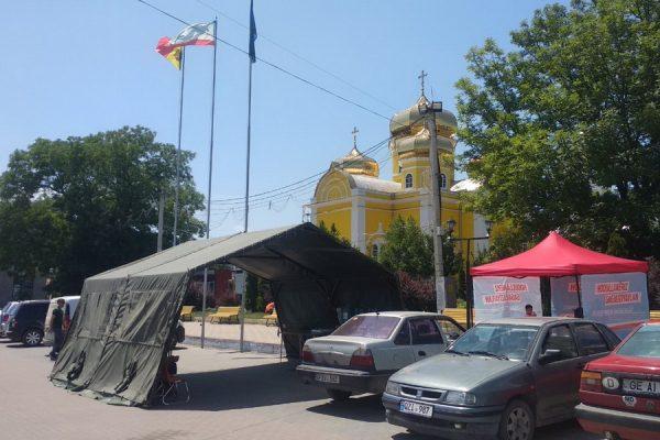 """Более 1 500 комратчан обратились за помощью в палатку """"антижара"""""""