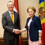 Зинаида Гречаный встретилась с главой МИД Латвии (ВИДЕО)